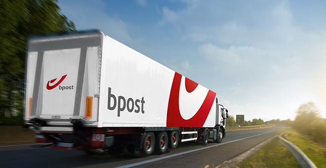 bPost China почта Бельгии