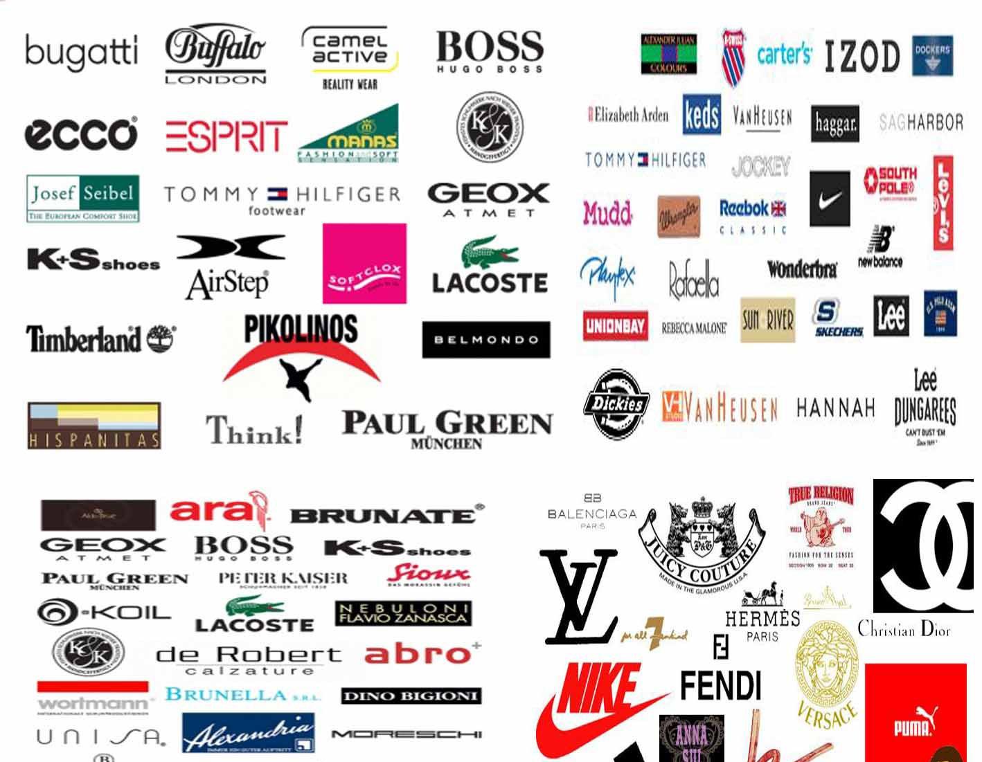 Фирмы обуви картинки